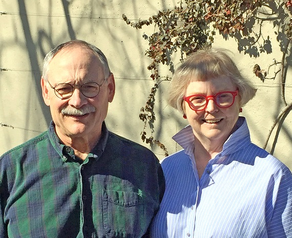 Peter Schenck and Marion Roydhouse Feb 2017