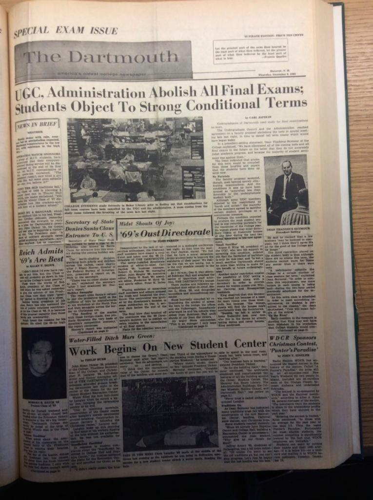 The D from December 9, 1965