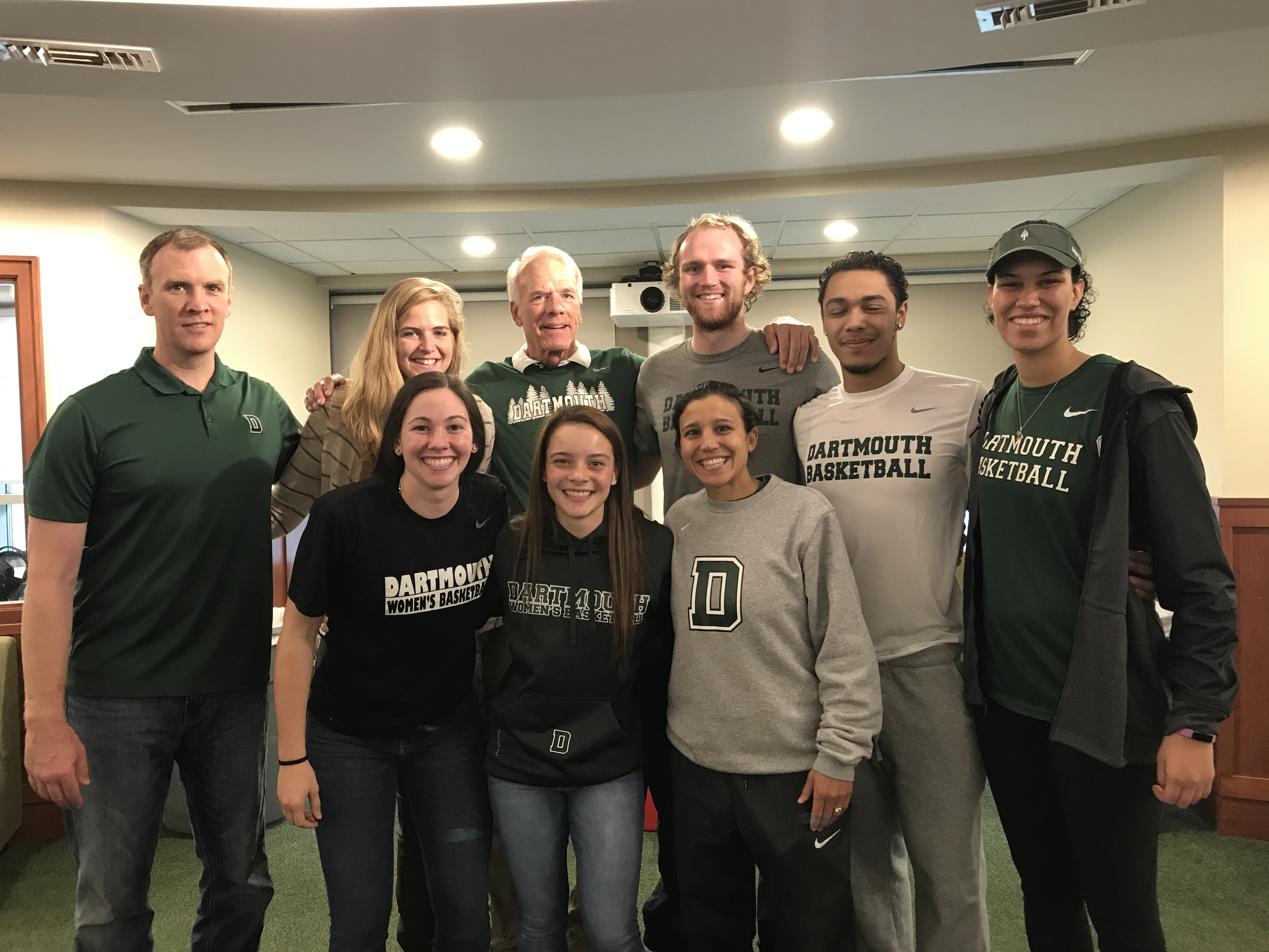 Basketball connections event